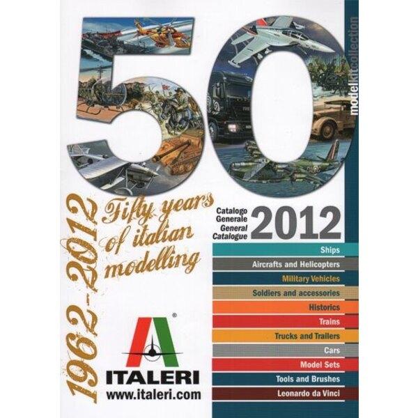 2012 Italeri Katalog. 50 Jahre italienischer Modellierung.