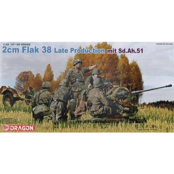 2cm Flak 38 Späte Produktion
