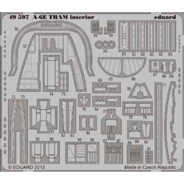 Grumman A-6E TRAM Intruder Innenraum (selbstklebend) (für Modelle von Kinetic)