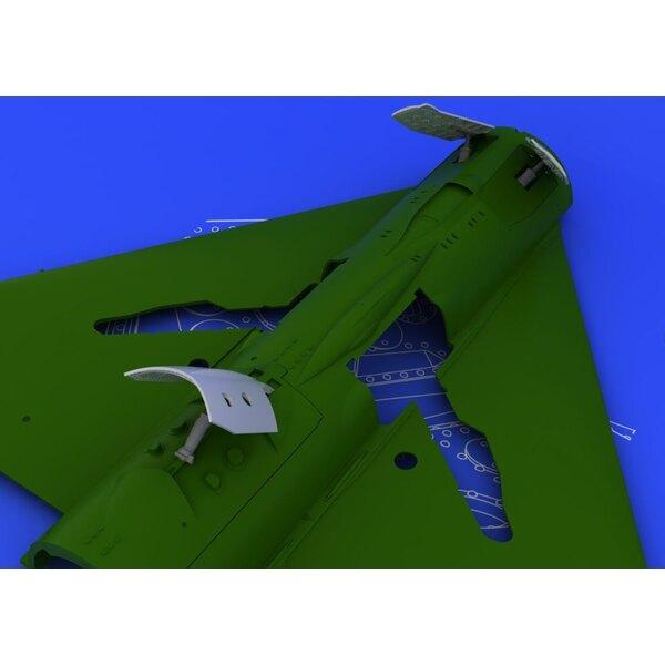 Mikojan MiG-21 Ende Bremsklappen (für Modelle von Eduard)
