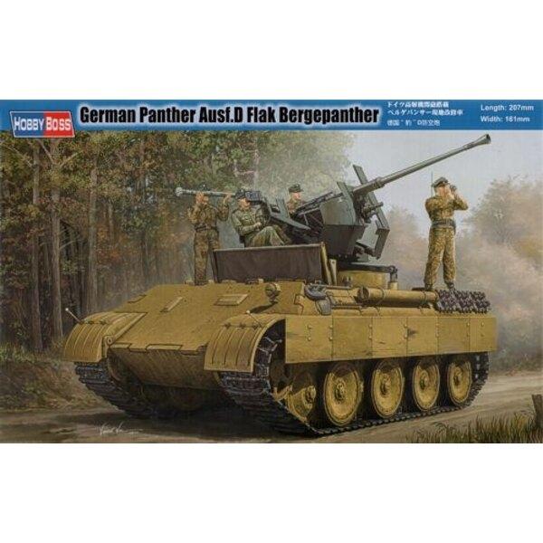 Deutsch Panther Ausf. D Flak Bergepanther