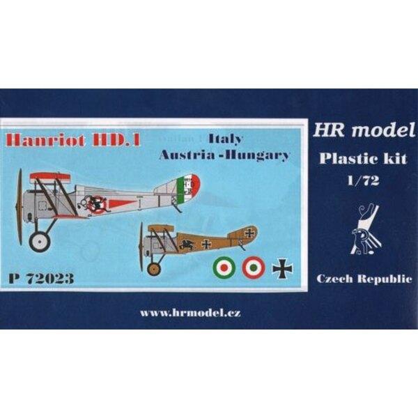 Hanriot HD.1 Decals Italien und Österreich-Ungarn