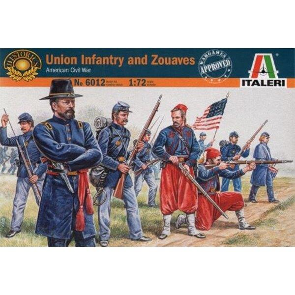 Union Infanterie und Zouaves