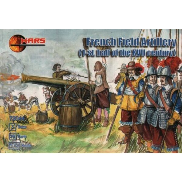 Französisch Field Artillery I Hälfte des XVII Jh.