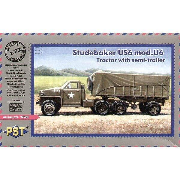 Studebaker US6 mod Traktor mit Anhänger