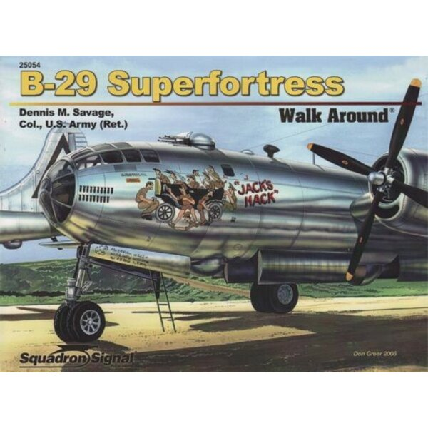 Boeing B-29 Superfortress (Walk Around Series)