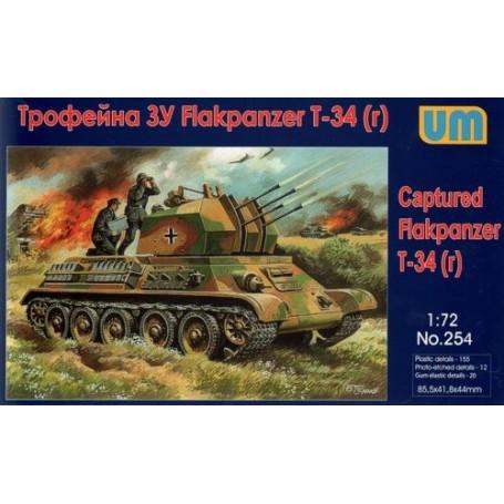 Captured Flakpanzer T-34 (r)