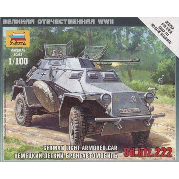 Deutsch Licht Armored Car Sd.Kfz.222