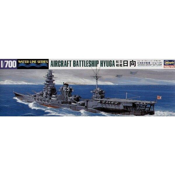 Hyuga, japanische Flugzeuge Schlachtschiff