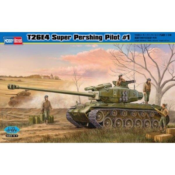 T26E4 Super-Pershing, Pilot # 1