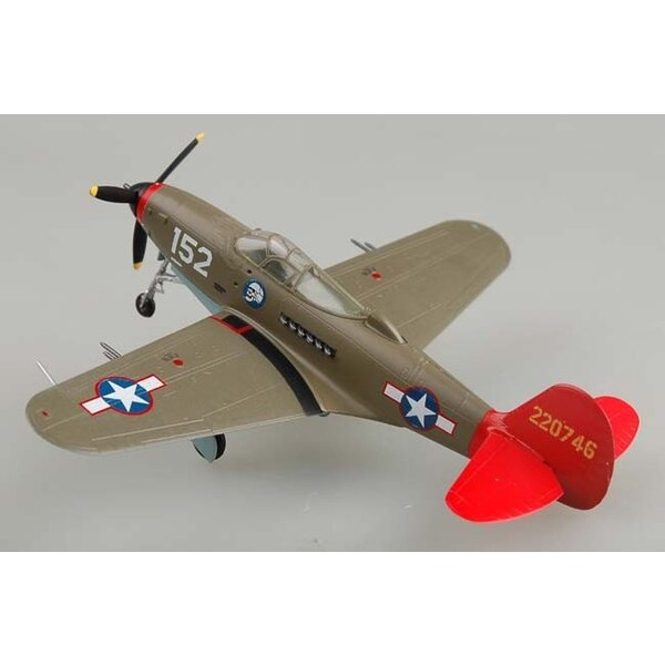 P-39Q Airacobra Tuskeegee Red Tails