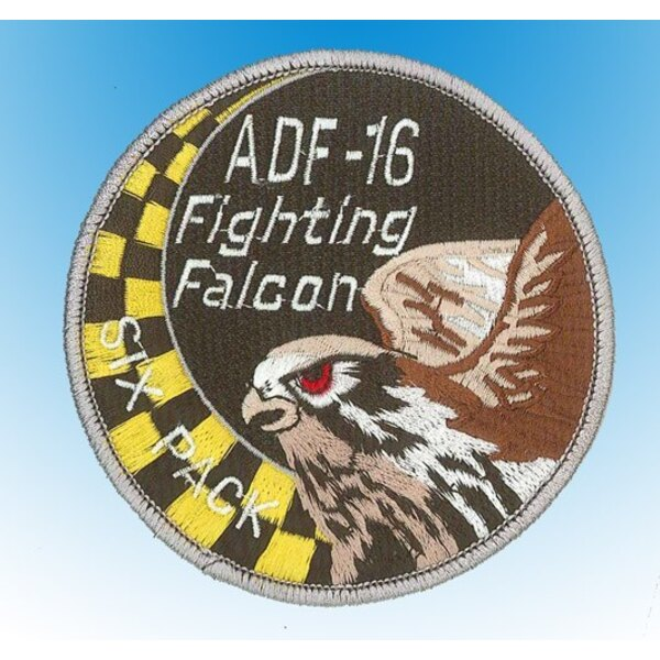 "Patch ADF-16 Fighting Falcon ""Six Pack"""