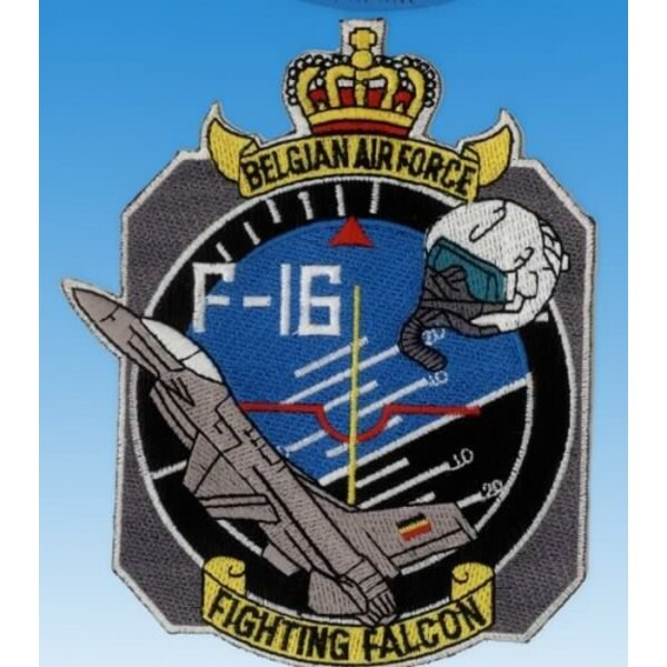 Patch F-16 Fighting Falcon belgischen Luftwaffe