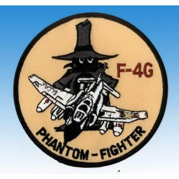 Patch F-4G Phantom Fighter