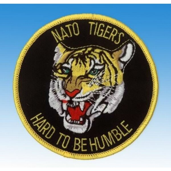 Patch Nato Tiger - Hard To Be Humble