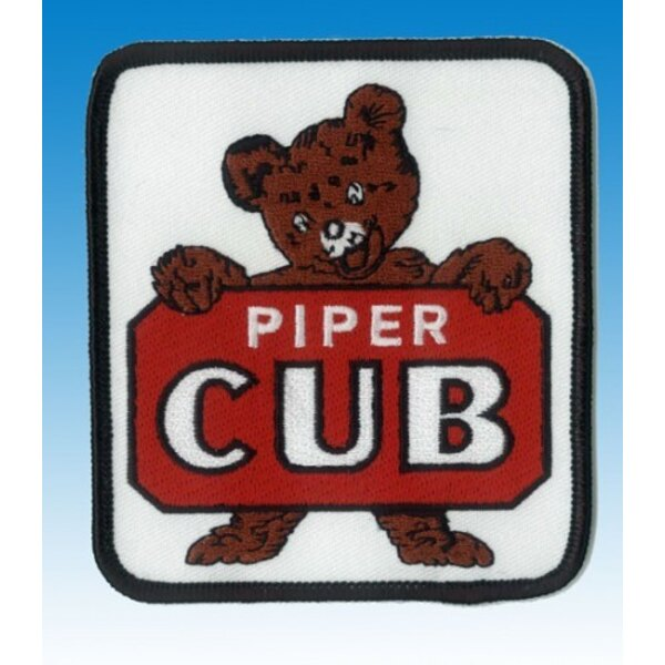 Piper Cub Logo Patch