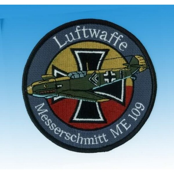 Luftwaffe Messerschmitt Me109 Patch-