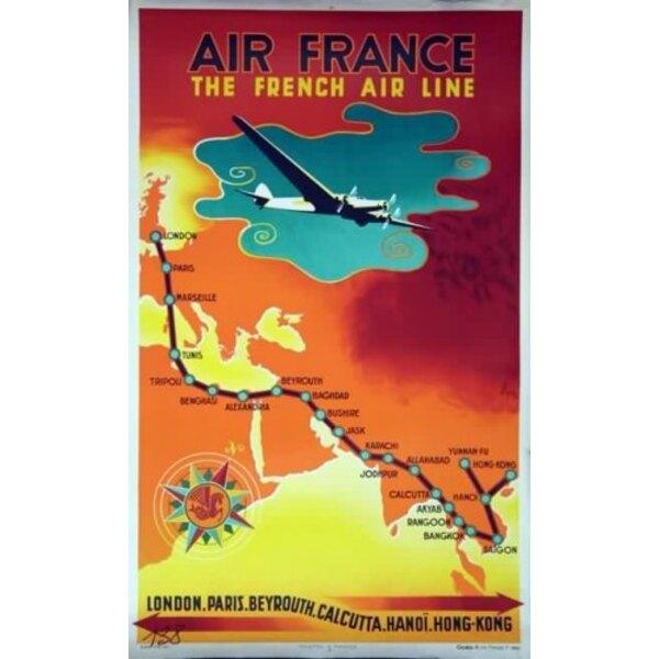 Air France - Die Französisch Air Line - N.Gerale 1939