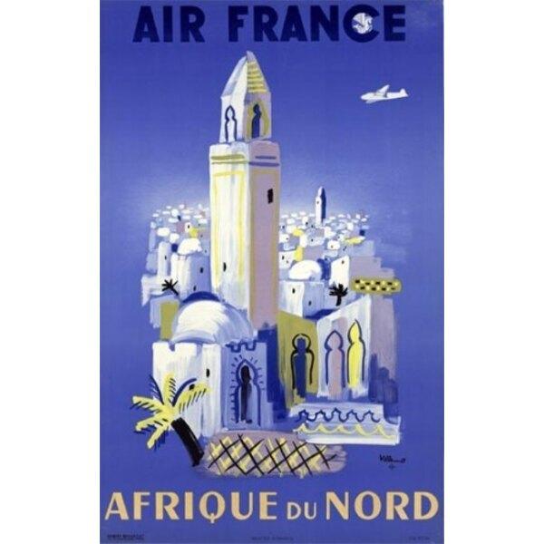 Air France - Nordafrika - Villemot 1948