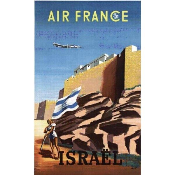 Air France - Israel - Renluc 1949