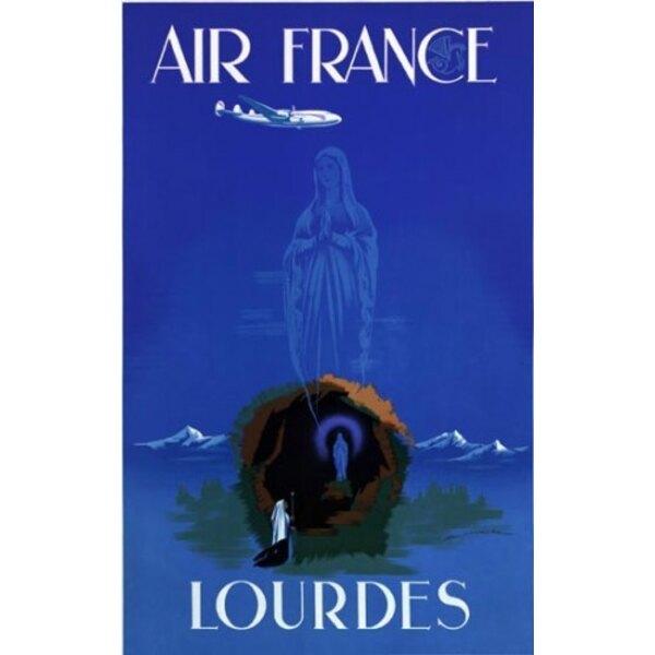 Air France - Lourdes - Maurus 1950