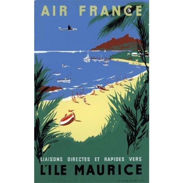 Air France - Ile Maurice Renluc 1954