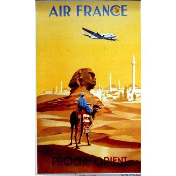 Air France - Middle East-V.Guerra 1950