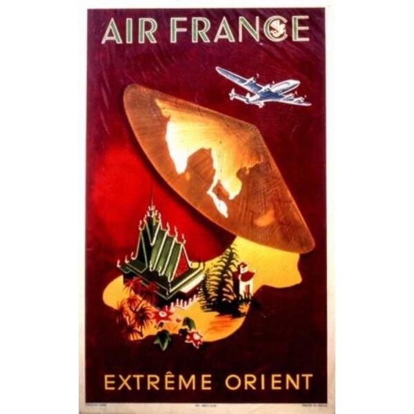 Air France - Fernost - 1950 G.Dumas