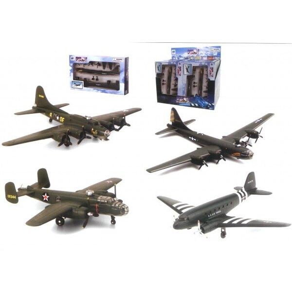 WWII Bomber (x12 Stück)
