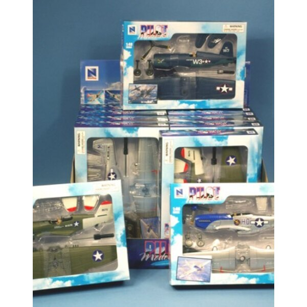 WWII Fighters - Kit (12pcs)