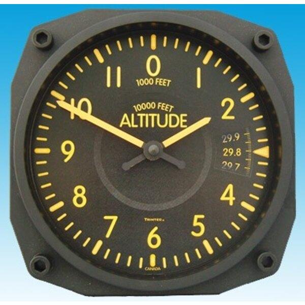 Altimeter Vintage-Stil Uhr - Wanduhr