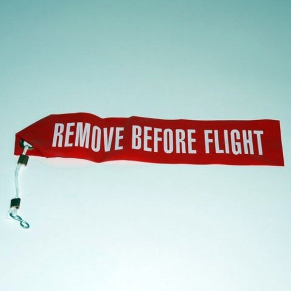 Remove Before Flight - Kunststoff