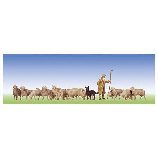 Schäfer, Hunde, Schafe