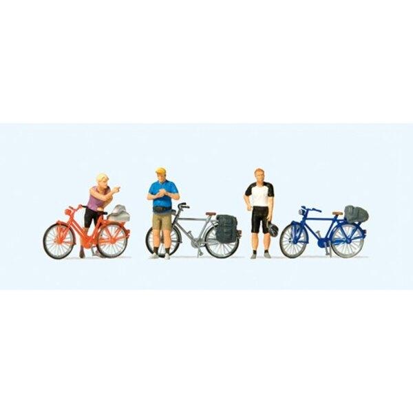 Radfahrer in Sportkleidung