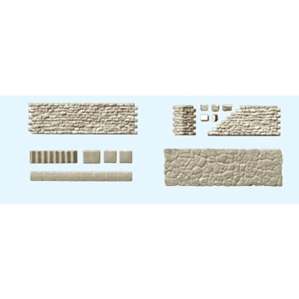Sätze von Wänden, Fertiger, Steintreppen