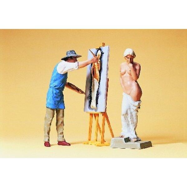 Maler Modell