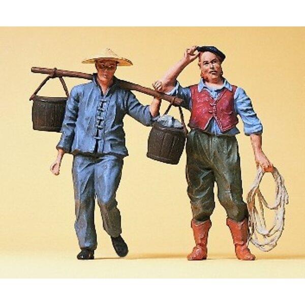 Arbeiter im Jahr 1900