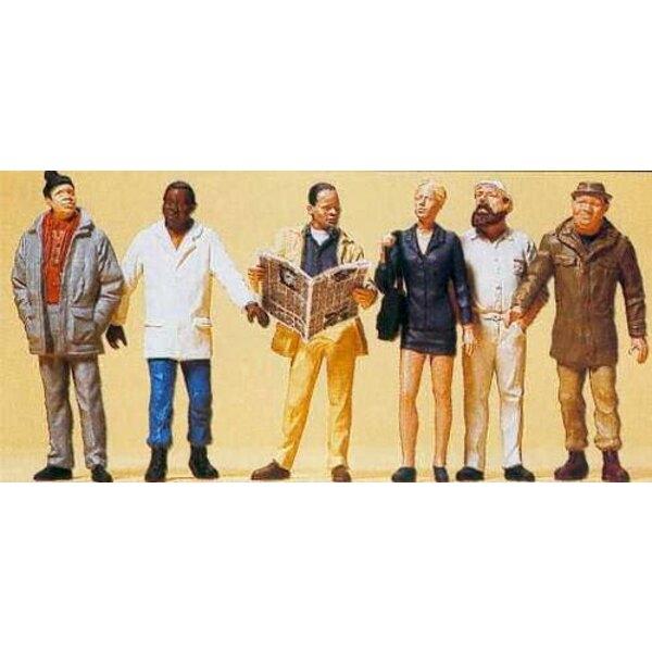 Passanten 6 Figuren