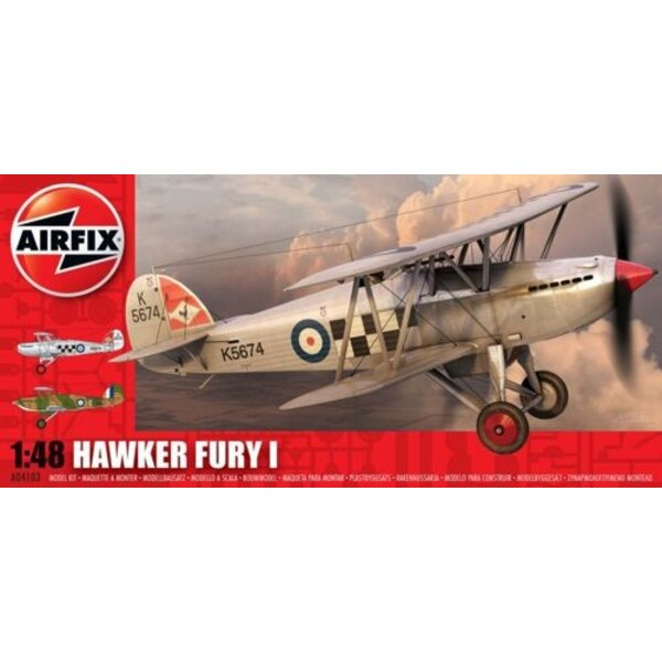 Hawker Fury Doppeldecker