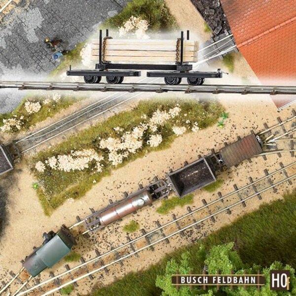 Wagon Rungenwagen geladenen Strahlen