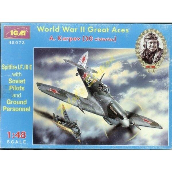 Spitfire LF.IXE - A.Karpov Ace