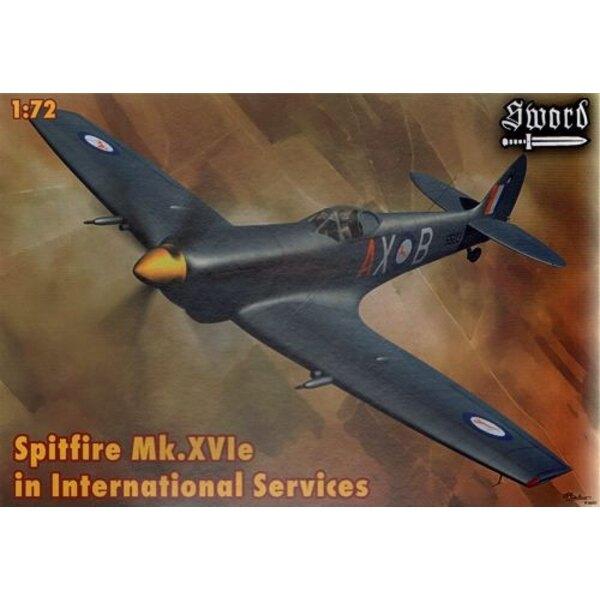 Supermarine Spitfire Mk.XVIe in International Services (Frankreich, Belgien, Griechenland, SAAF)
