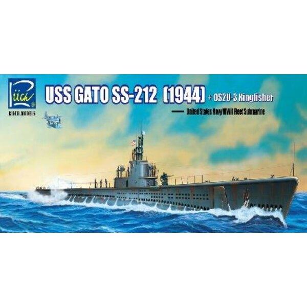 USS Gato SS-212 Flotte U-Boot 1942