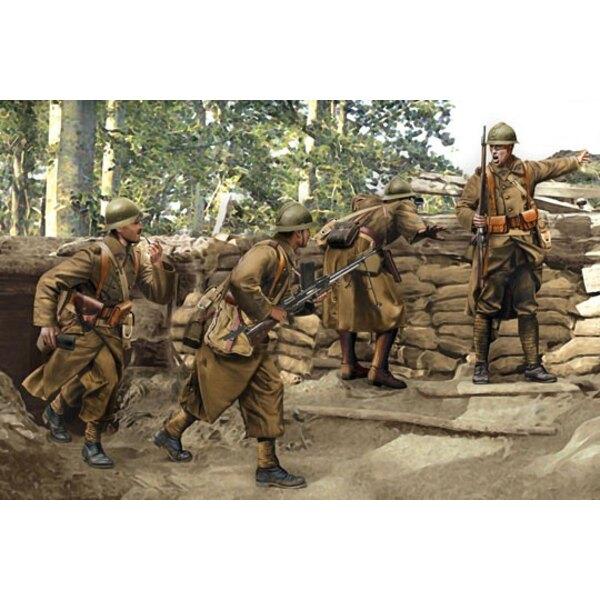 Französisch Infanterie Sedan 1940