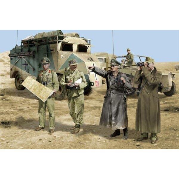 Rommel und Generalstab Afrika 42