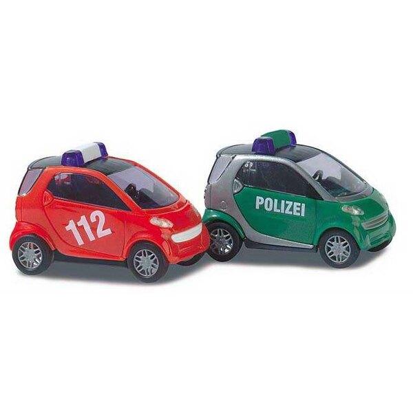 Intelligente Polizei / Feuerwehr entfernt.