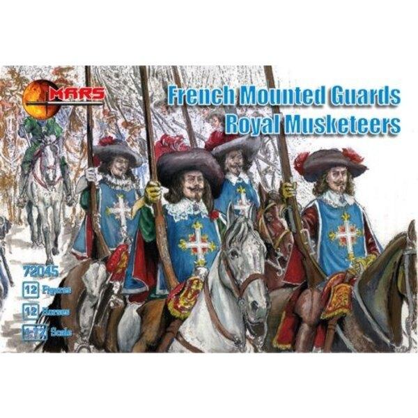 Französisch montiert Guards königlichen Musketiere