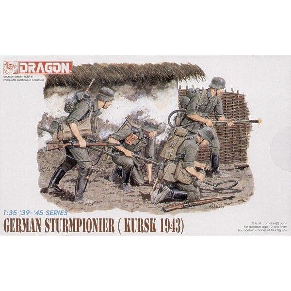 Deutsch Sturmpioneers, Kursk 1943