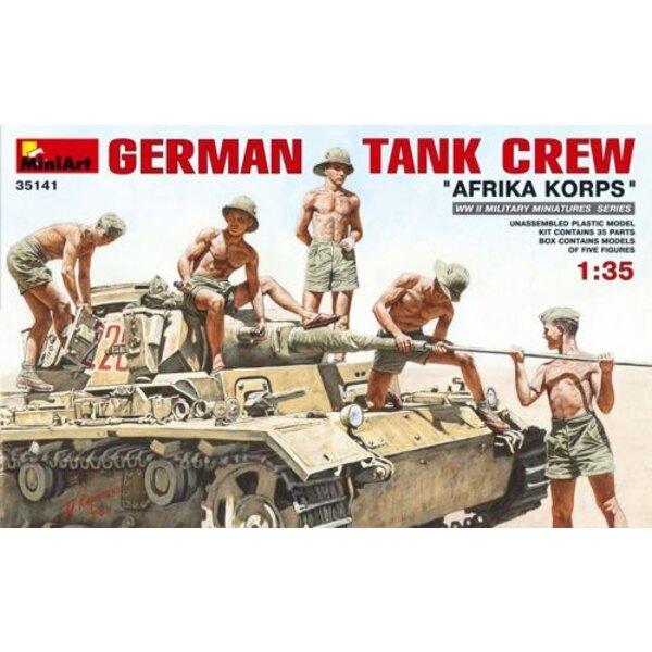 Deutsch Panzer Besatzung 'Afrikakorps'