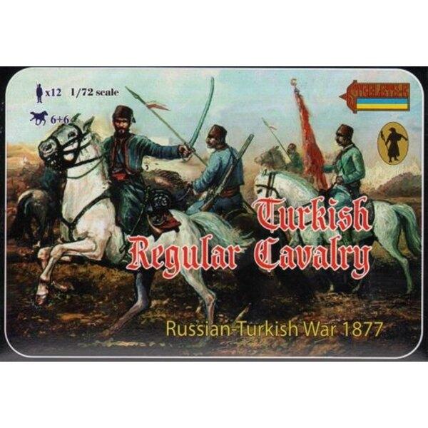 Türkische Kavallerie 1877 Russo-Türkischen Krieg 1877